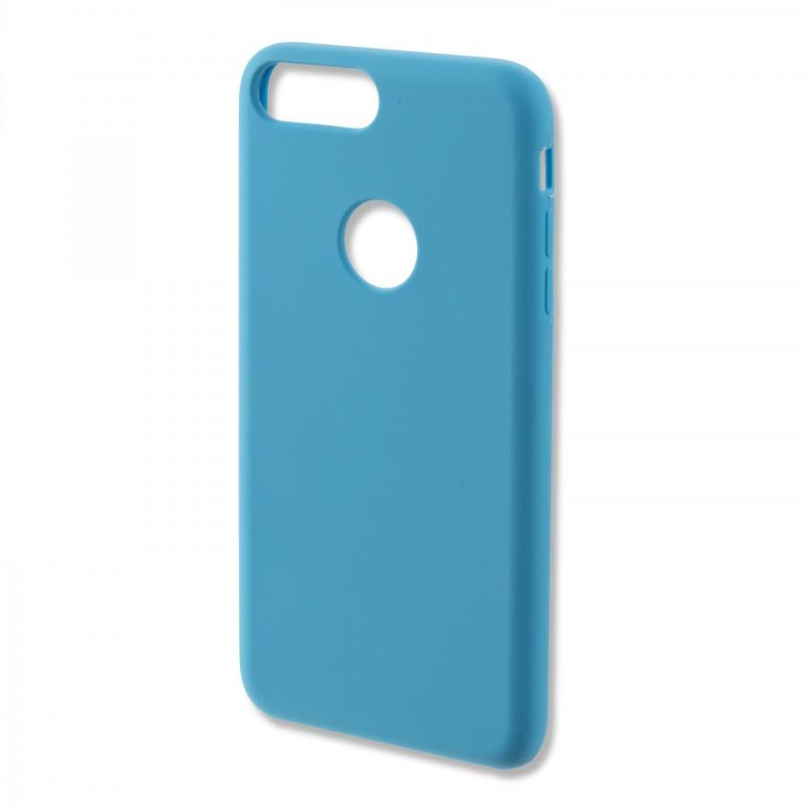 coque iphone 7 plus bleu clair silicone