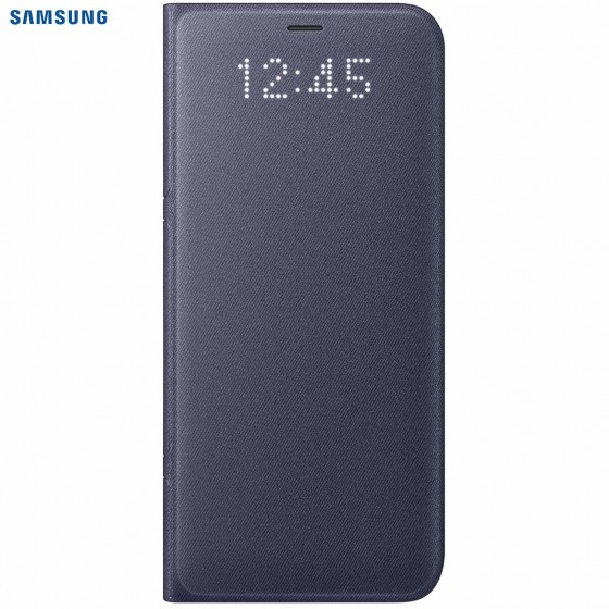 SAMSUNG Coque LED View EF-NG950PL pour Samsung Galaxy S8 - Bleu