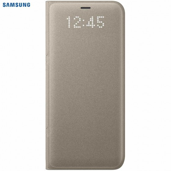 SAMSUNG Coque LED View EF-NG955PF pour Samsung Galaxy S8+ OR