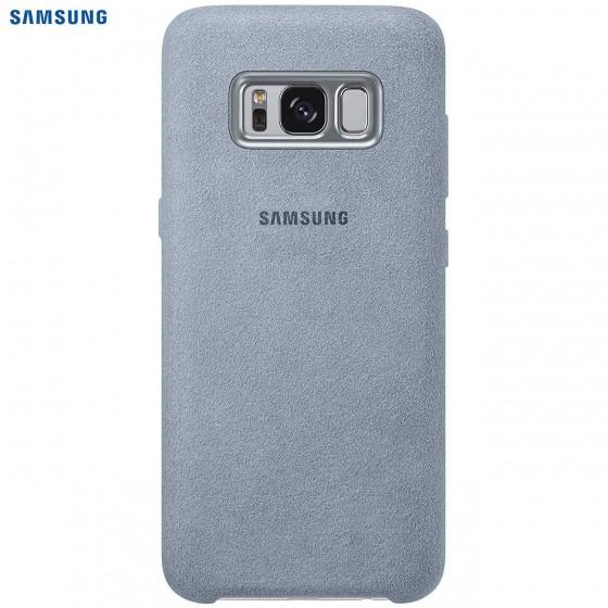 SAMSUNG Coque ALCANTARA EF-XG950AM pour Samsung Galaxy S8 - Gris