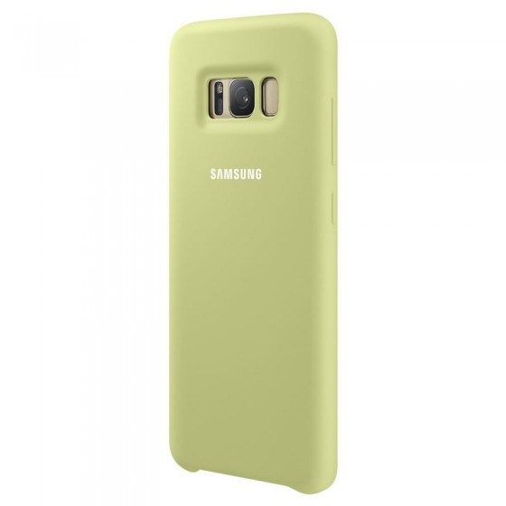 SAMSUNG Coque Silicone EF-PG955 pour Samsung Galaxy S8 Plus Vert