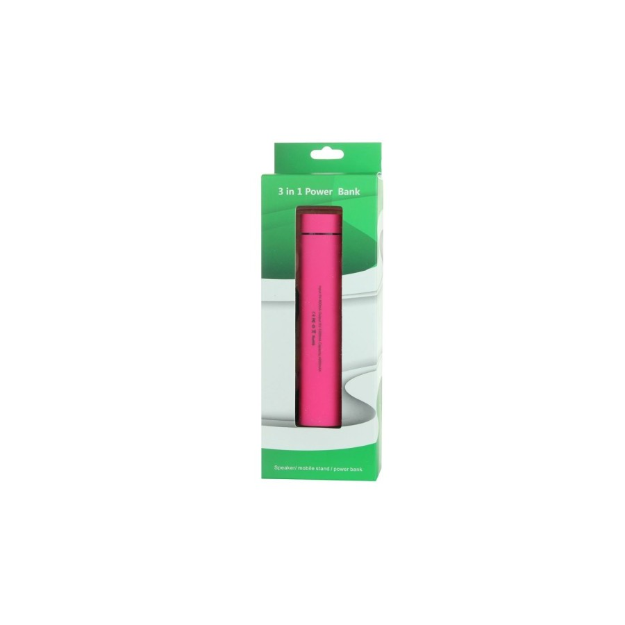 3 en 1 Batterie Externe 4000mAh / Support / Enceinte et haut-parleur pour iPhone / Samsung Galaxy / HTC / Autres Smartphones