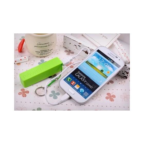 Batterie de secours 2600mAh pour iPhone / smartphone / tablette