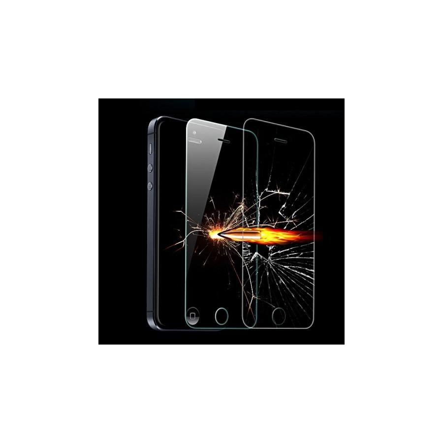 Film de protection en verre trempé  Anti-Choc - iPhone 5 / 5C / 5S