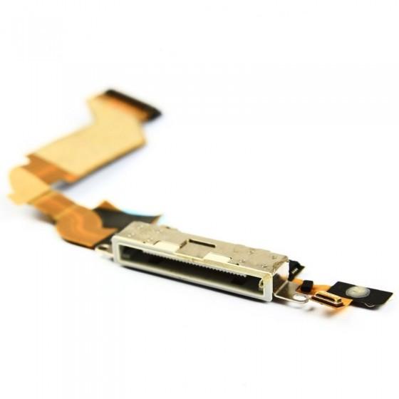 Connecteur de charge Blanc- iPhone 4S