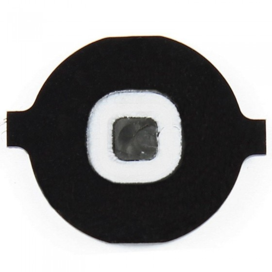 Bouton home Noir - iPhone 4 / 3GS / 3G & iPad 1