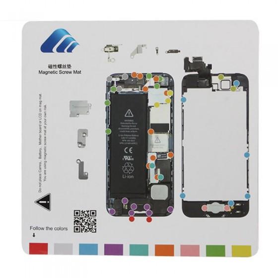 Patron vis magnétique iPhone 5