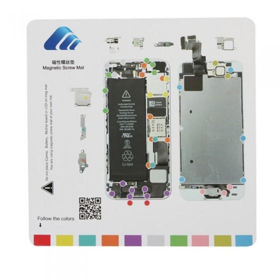 Patron vis magnétique iPhone 5S