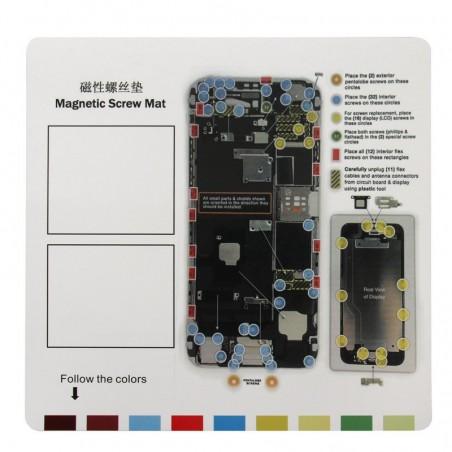 Patron vis magnétique iPhone 6 Plus