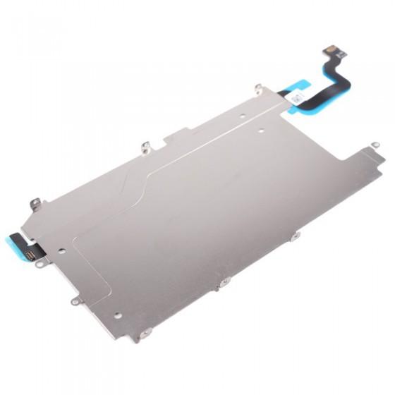 Plaque métal LCD avec nappe bouton home - iPhone 6