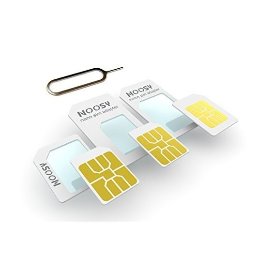 Adaptateur carte SIM + extraction de carte SIM pour iPhone