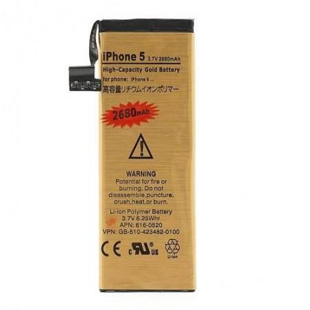 Batterie Gold Haute Capacité 2680mah - iPhone 5