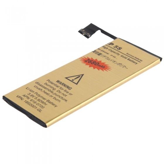 Batterie Gold Haute Capacité 2680mah - iPhone 5S