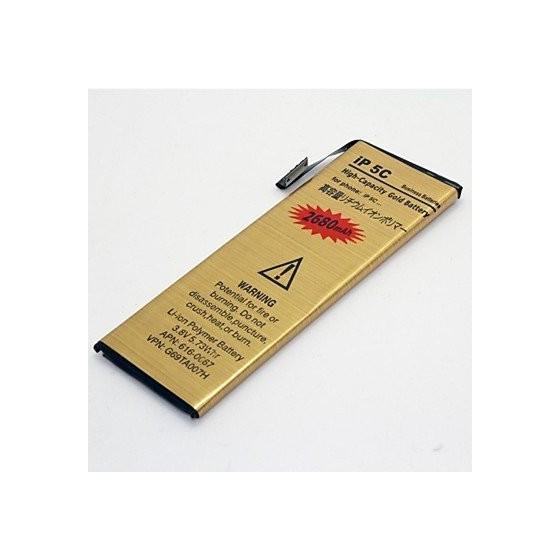 Batterie Gold Haute Capacité 2680mah - iPhone 5C