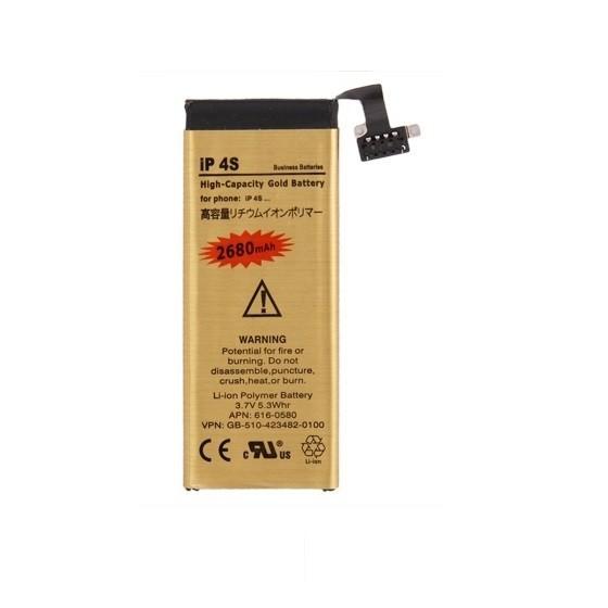 Batterie Gold Haute Capacité 2680mah + Outils - iPhone 4S