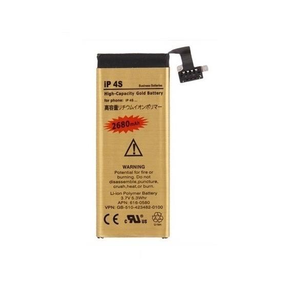 Batterie Gold Haute Capacité 2680mah - iPhone 4S