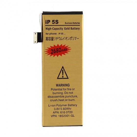 Batterie Gold Haute Capacité 2680mah + Outils - iPhone 5S