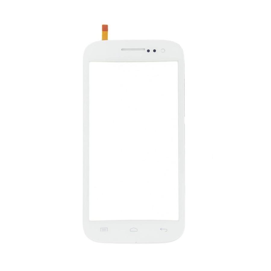 Vitre tactile Blanc - Wiko Cink Five