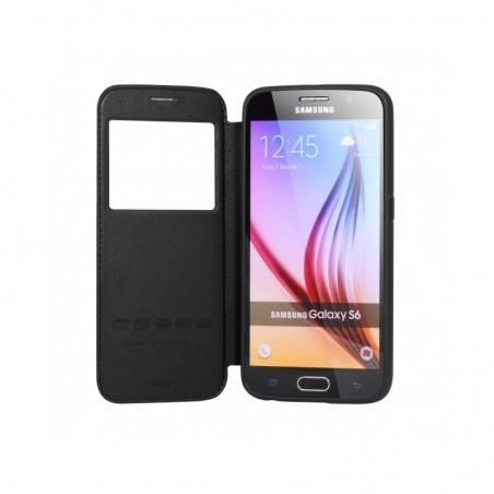 Etui Housse Noir à rabat G-Case - Samsung Galaxy S6