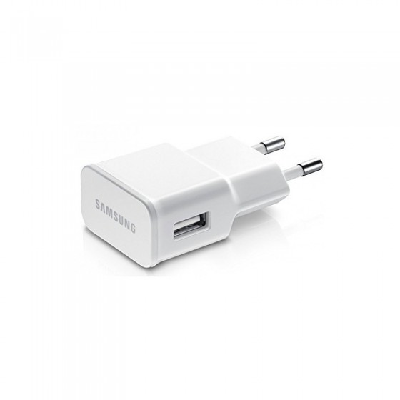 Chargeur secteur USB Blanc- Samsung