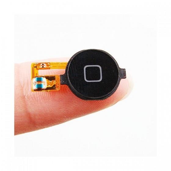 Bouton home Noir + nappe - iPhone 3G / 3GS