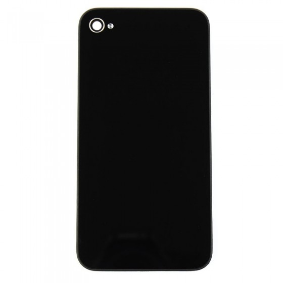 Vitre Arrière Noir - iPhone 4 -  sans logo