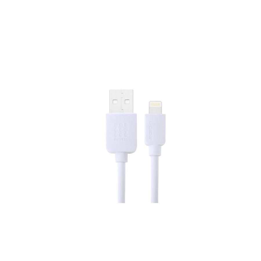 Câble USB Lightning Blanc - iPhone 5/5S/5C, 6/6S, 6 Plus/6S PLus