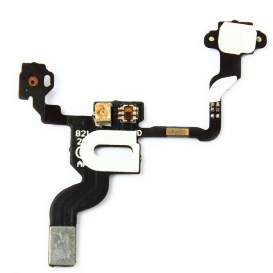 Nappe Capteur de Proximité + Power + Micro Haut - iPhone 4