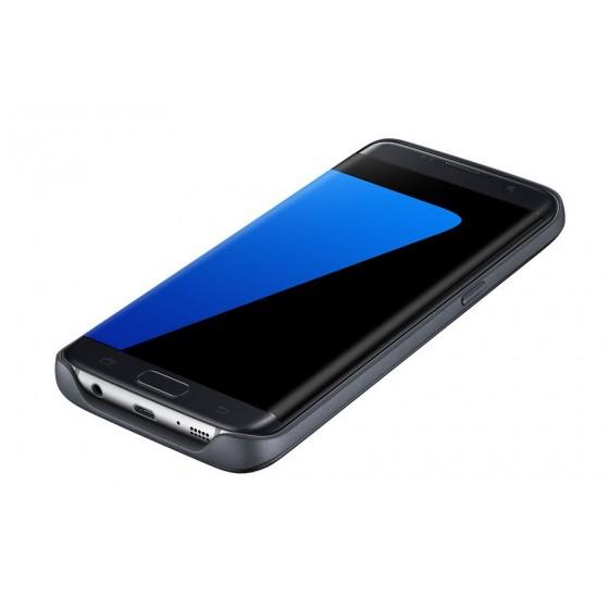 Coque batterie 3100 mAh à induction pour Galaxy S7 edge