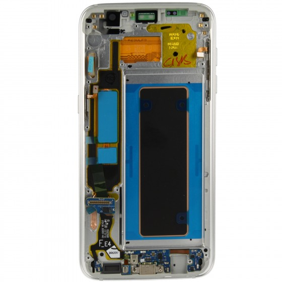 Samsung LCD Ecran complet  Galaxy S7 Edge Blanc
