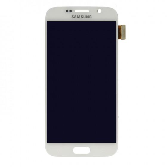 Samsung LCD Ecran complet  Galaxy S6 Blanc