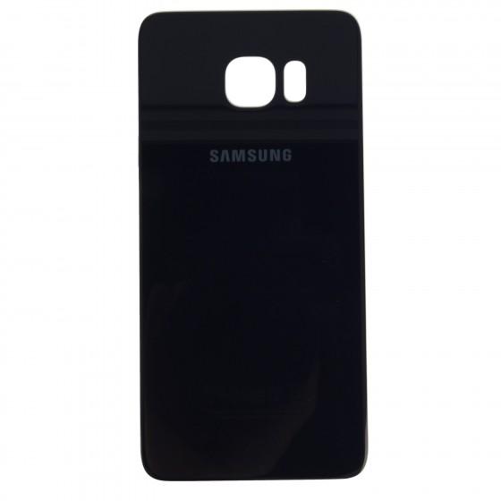 Samsung Vitre Coque Arrière  Noir Galaxy S6 Edge+