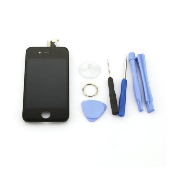 Ecran LCD Noir pour iPhone 4S + Kit de 8 Outils