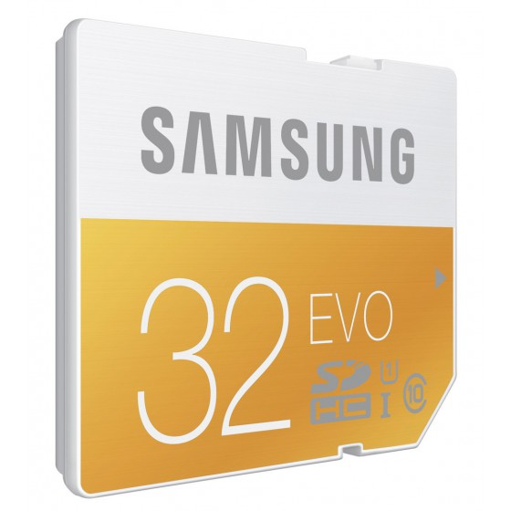 Samsung EVO MicroSD Carte 32Go MicroSDXC