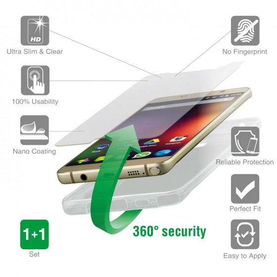 Protection 360° 4smarts  - iPhone 7 clear
