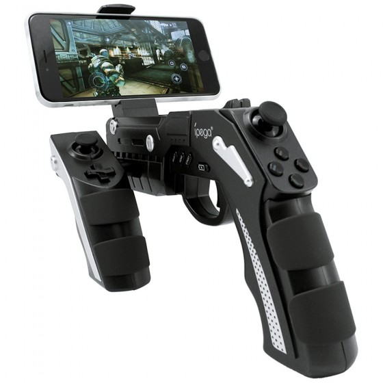 Manette de jeux Bluetooth iPega Gun BT