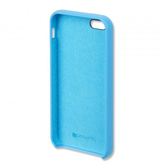 Coque Silicone 4smarts CUPERTINO  -  iPhone 5/5S/SE Bleu Claire
