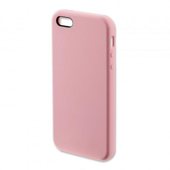 Coque Silicone 4smarts CUPERTINO  -  iPhone 5/5S/SE Rose