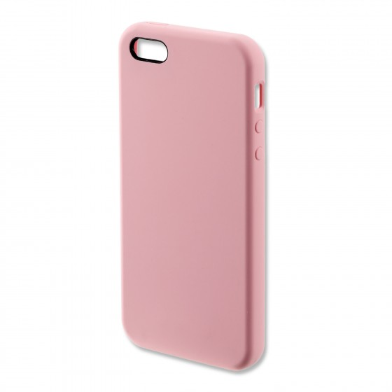 Coque Silicone 4smarts CUPERTINO  -  iPhone 5/5S/SE Rose
