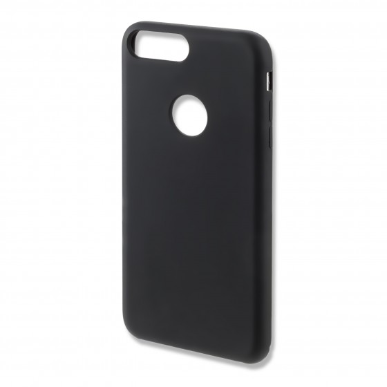 Coque Silicone 4smarts CUPERTINO  -  iPhone 7 Plus Noir