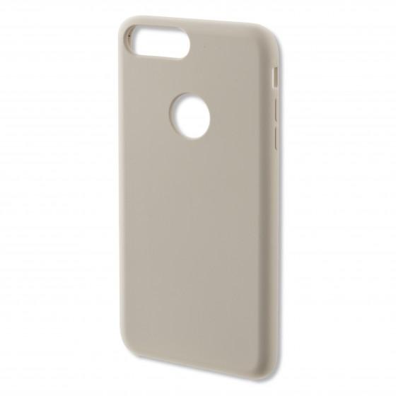 Coque Silicone 4smarts CUPERTINO  -  iPhone 7 Plus Blanc Créme