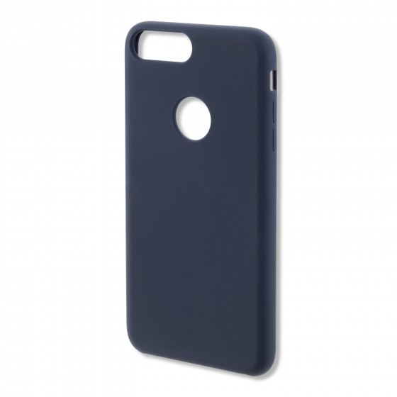 Coque Silicone 4smarts CUPERTINO  -  iPhone 7 Plus  Bleu Nuit
