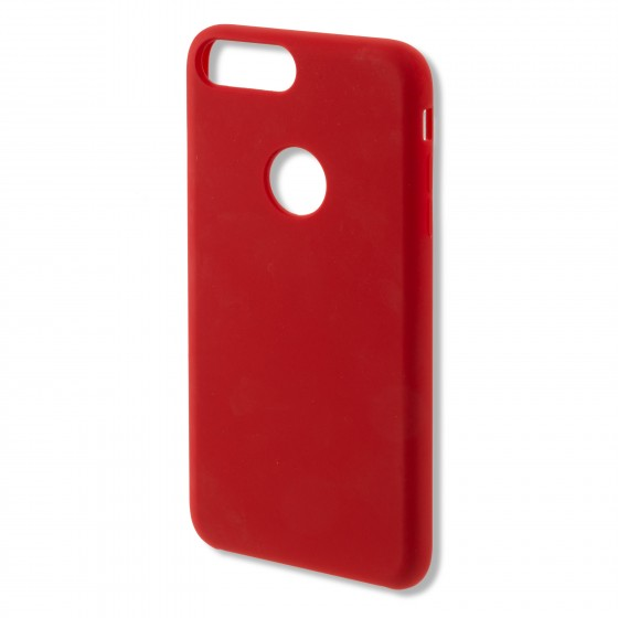 Coque Silicone 4smarts CUPERTINO  -  iPhone 7 Roge