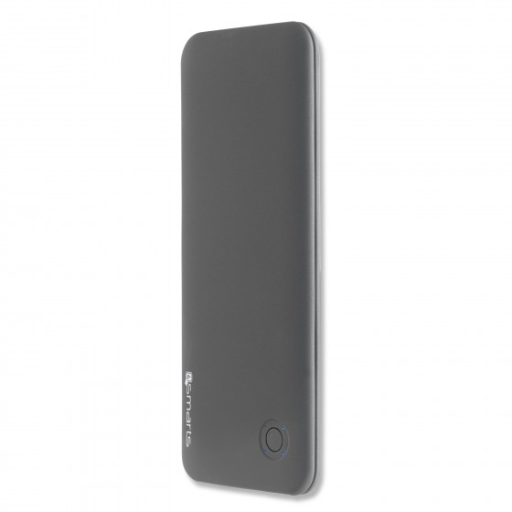 Power Bank 6000 mAh, 4smarts Duos Slim Evo - Gris