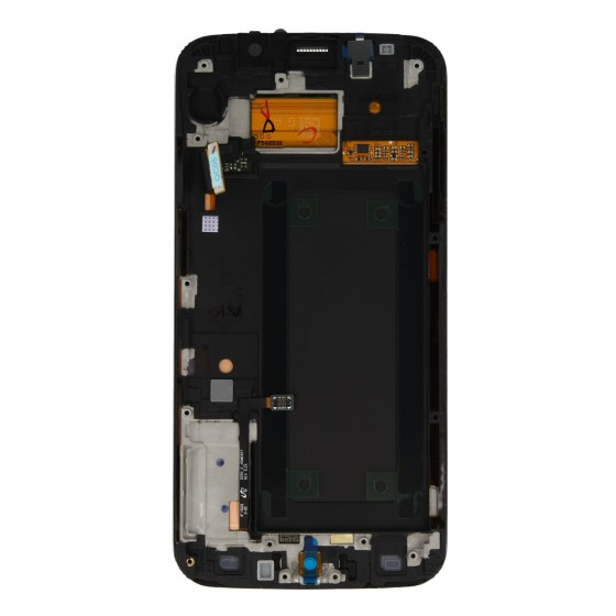 Samsung LCD Ecran complet  Galaxy S6 Edge Blanc