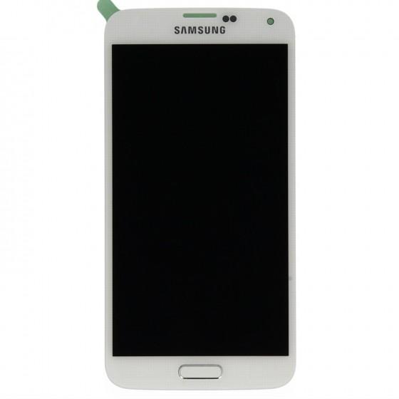 Samsung LCD Ecran complet  Galaxy S5 Mini Blanc