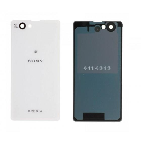 Vitre Arrière Sony Xperia Z1 Compact - Blanc