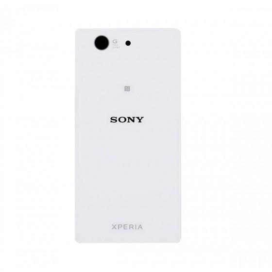 Vitre Arrière Sony Xperia Z3 Compact - Blanc