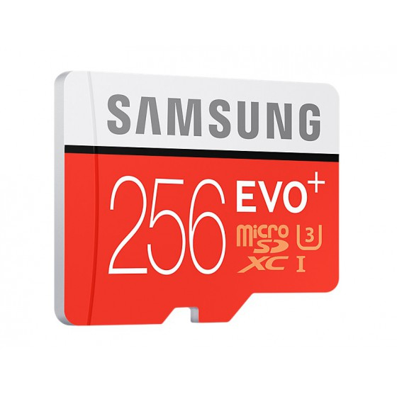Samsung EVO MicroSD Carte 256Go MicroSDXC