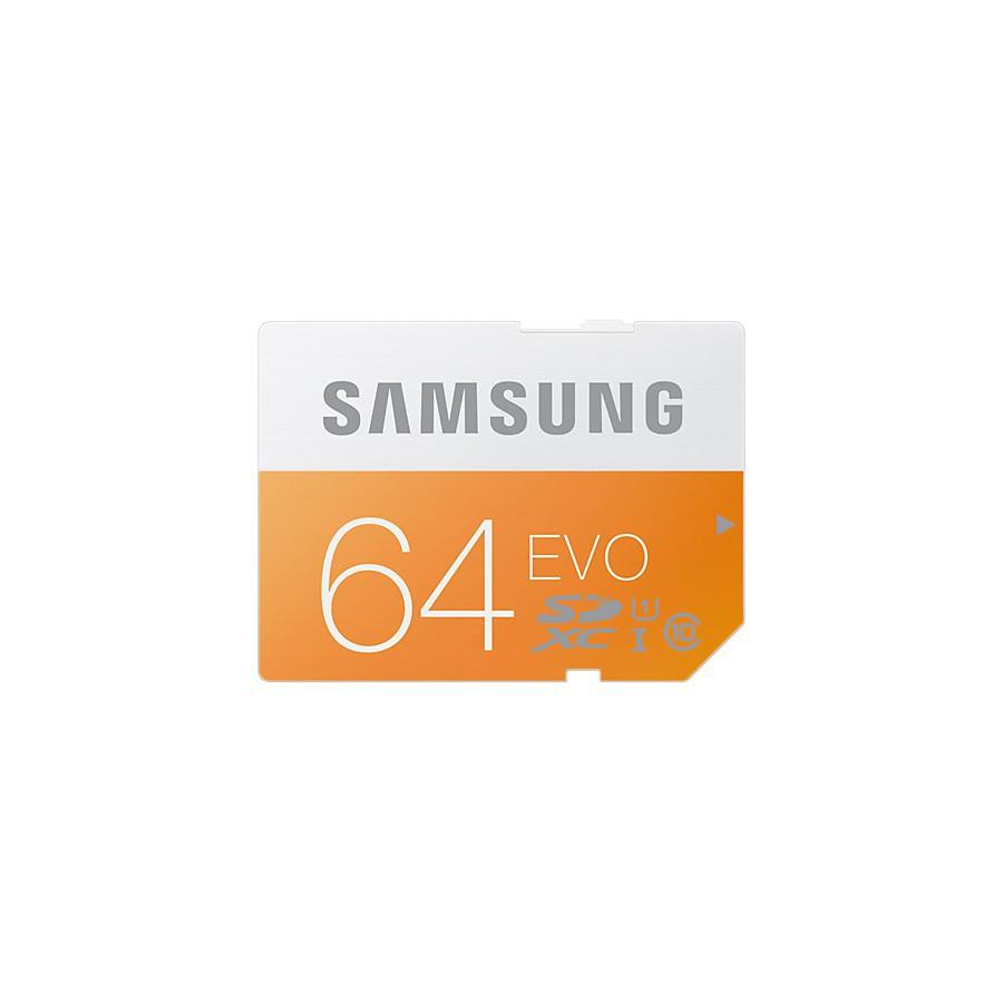 Samsung EVO MicroSD Carte 64Go MicroSDXC